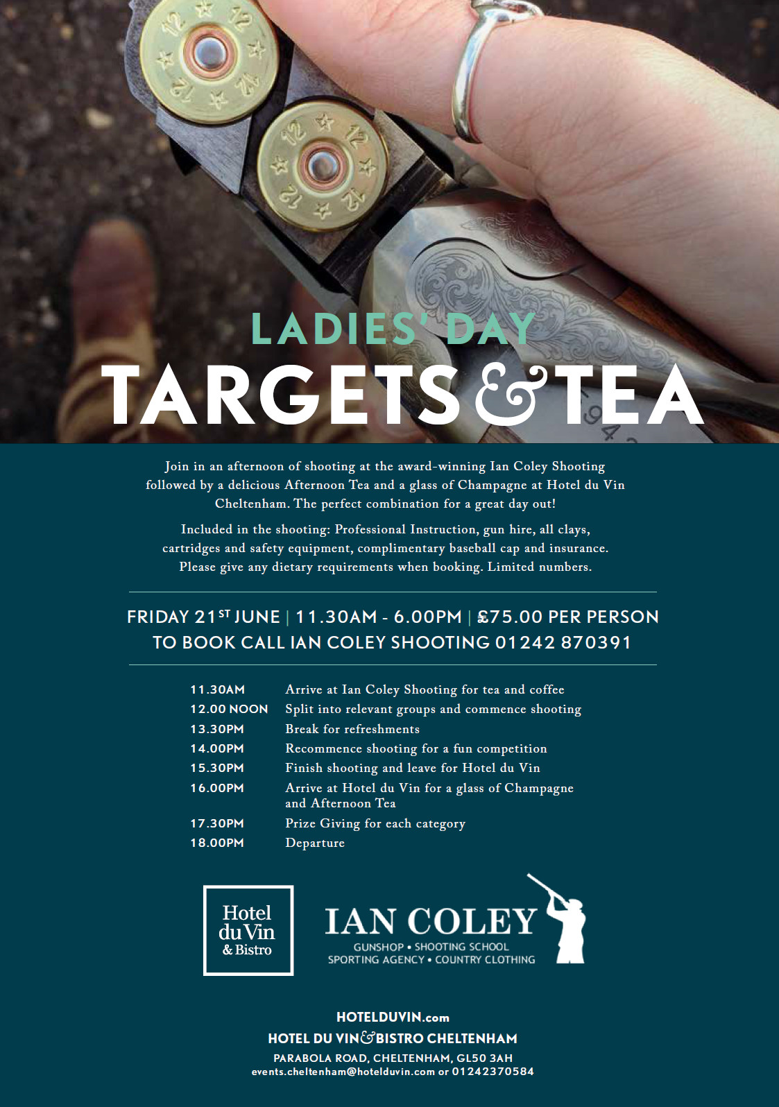 Ladies Day – Targets and Tea
