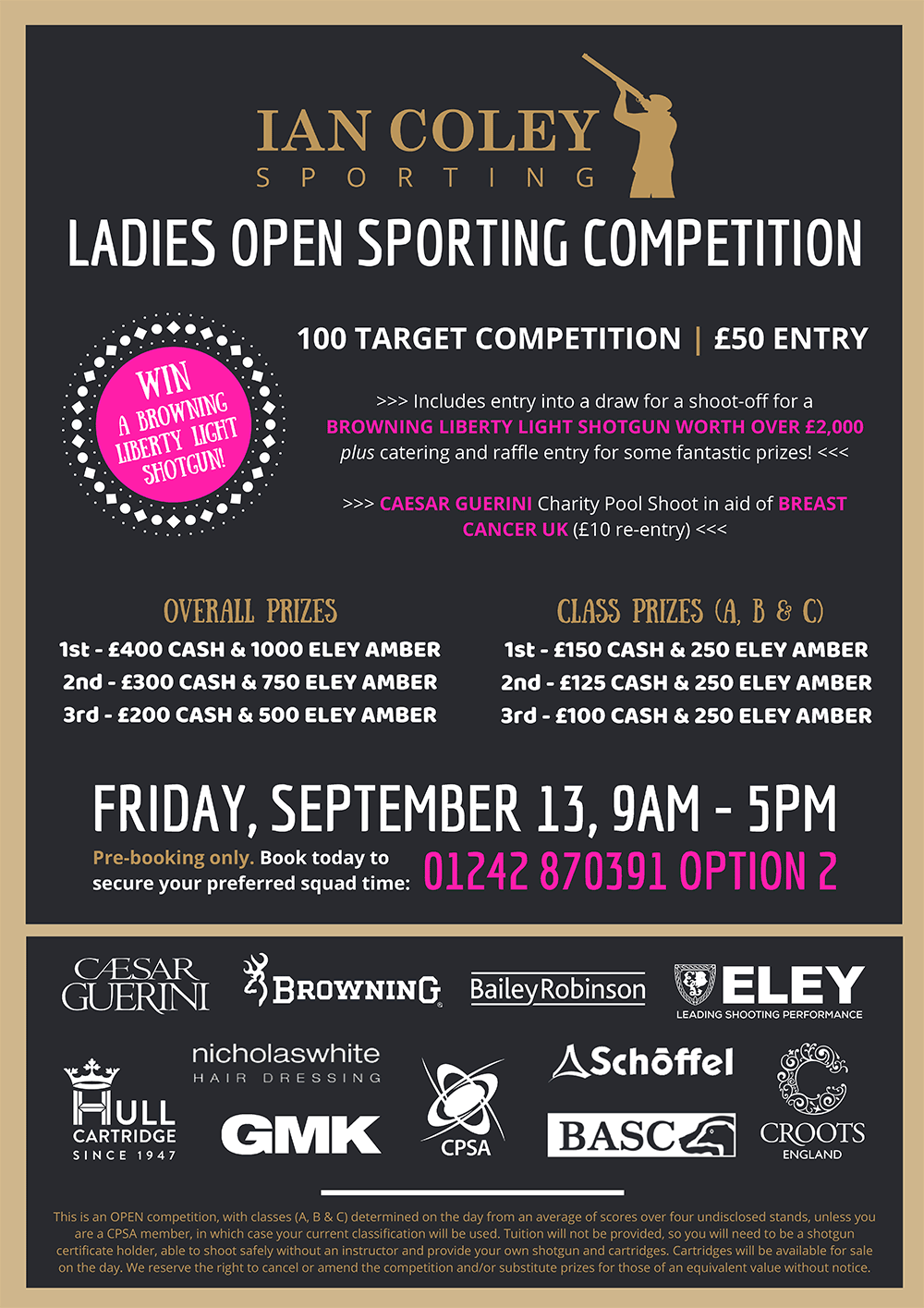 Ladies Open Sporting Competition