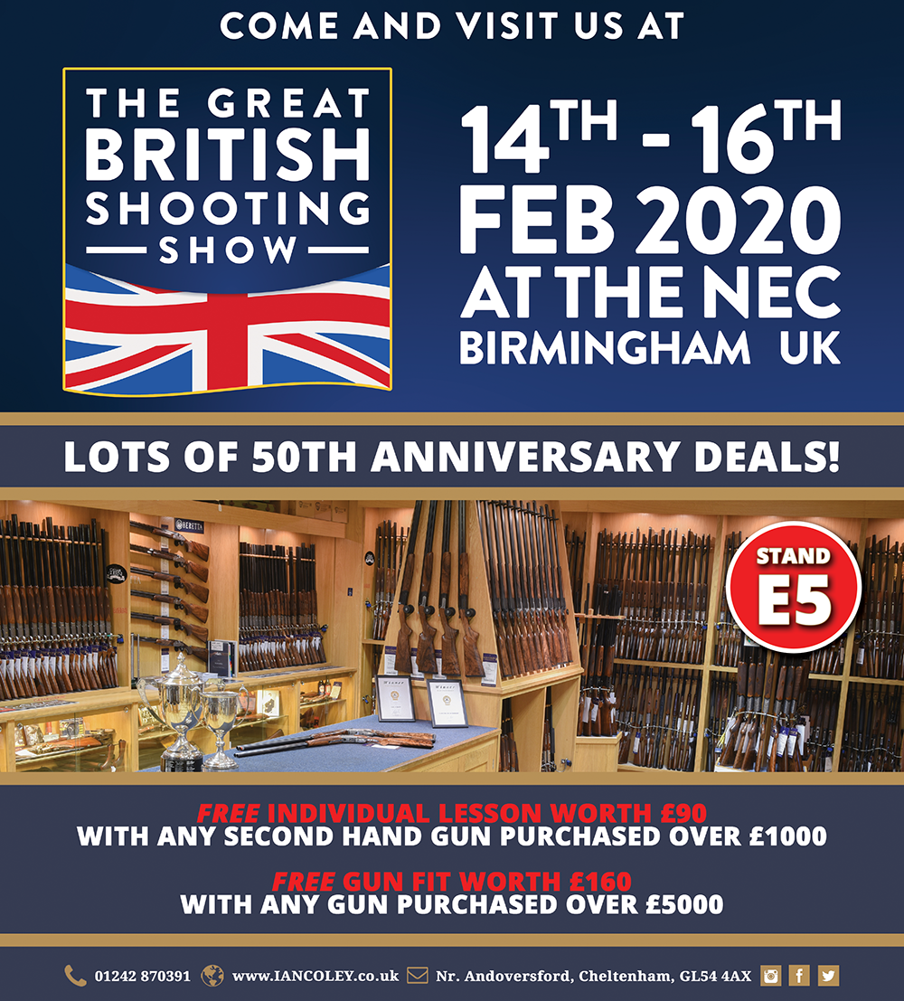 British Shooting Show ~ 14th, 15th & 16th February